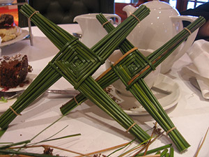 Saints Bridget's Cross Image