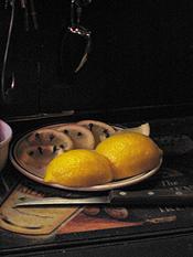 Whiskey with Lemon